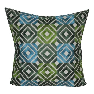 Park Avenue Decorative Throw Pillow Color: Green