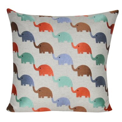 Elephants Decorative Throw Pillow