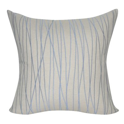 Stripe Decorative Throw Pillow Color: Linen
