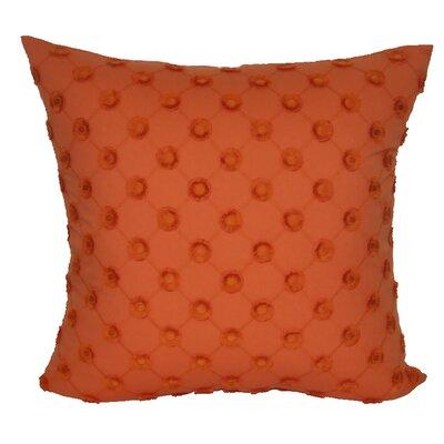 Polka Dot Decorative Throw Pillow Color: Orange