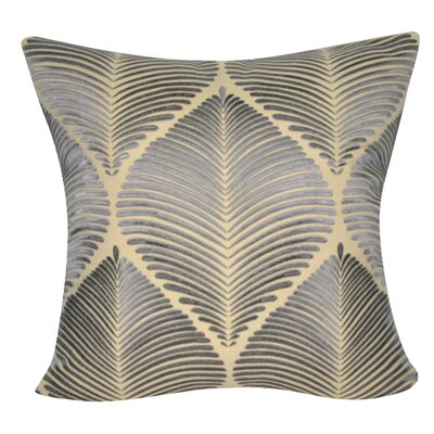 Leaf Decorative Throw Pillow Color: Brown/Gray