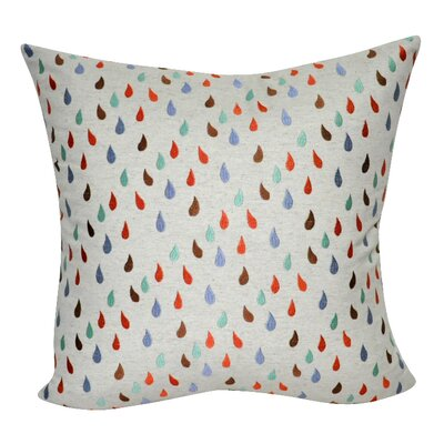 Raindrops Decorative Throw Pillow