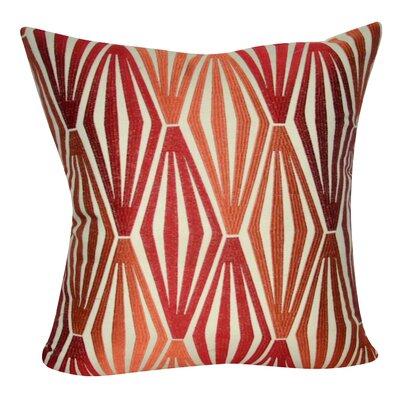 Stockbridge Decorative Throw Pillow Color: Red