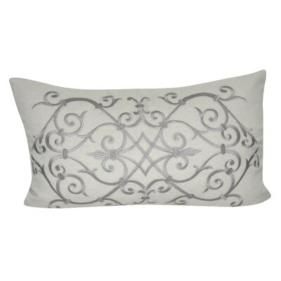Iron Work Decorative Lumber Pillow Color: Linen