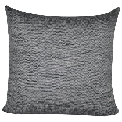 Herringbone Decorative Throw Pillow Color: Charcoal