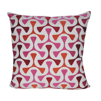 Loom and Mill Bomerang Throw Pillow - Color: Pink