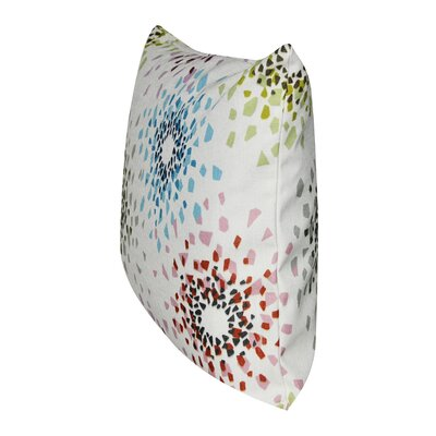 Shattered Colors Throw Pillow