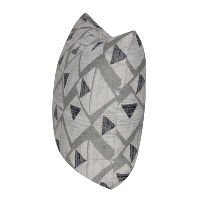 Manly Triangles Throw Pillow