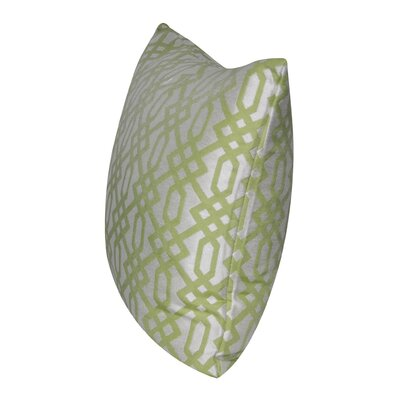 Lattice Indoor/Outdoor Throw Pillow Color: Light Green
