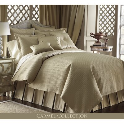 Carmel 9 Piece Reversible Comforter Set Size: Full