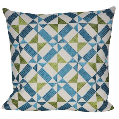 Spun Geo Throw Pillow