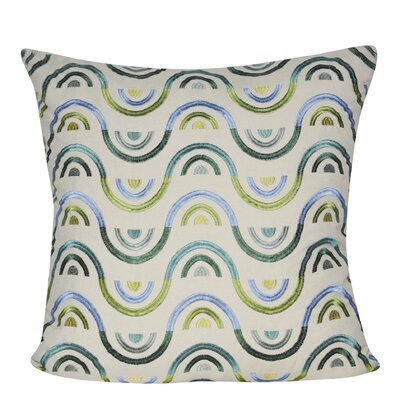 Beaded Chevron Throw Pillow
