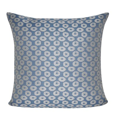 Circles Indoor/Outdoor Throw Pillow Color: Blue