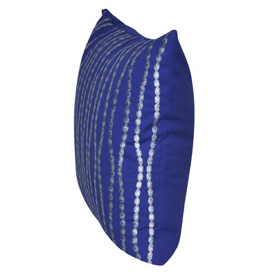 Swim Throw Pillow Color: Blue