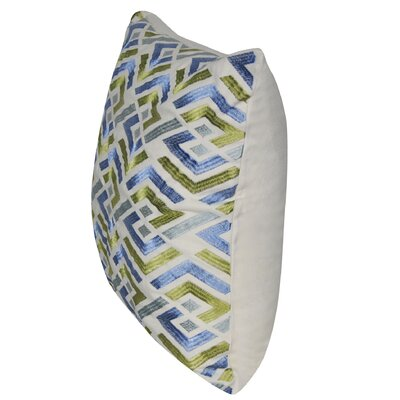 Cut Geo Throw Pillow