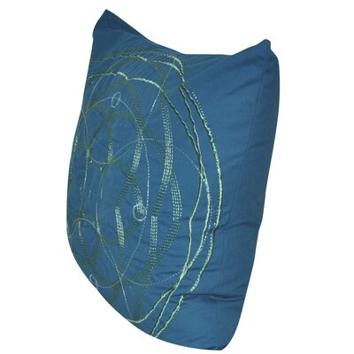 Celestial Throw Pillow Color: Blue