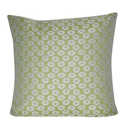 Circles Indoor/Outdoor Throw Pillow Color: Light Green