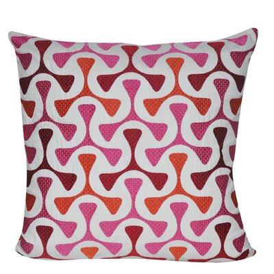 Bomerang Throw Pillow Color: Pink