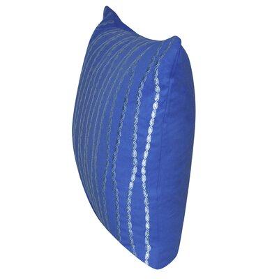 Swim Throw Pillow Color: Aqua