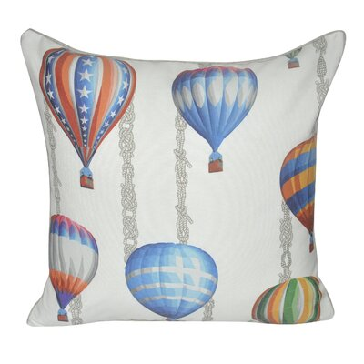 Balloons in Flight Throw Pillow