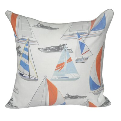 Boats in Cabo Throw Pillow