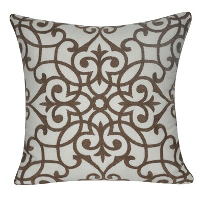 Chelsea Throw Pillow Color: Brown