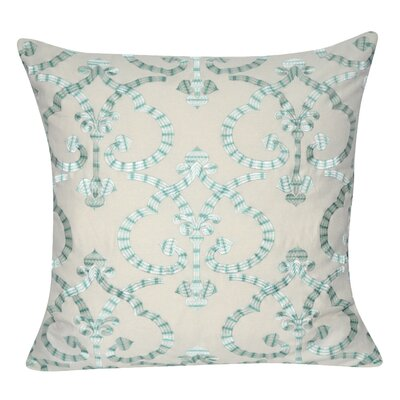 Delhi Throw Pillow Color: Turquoise