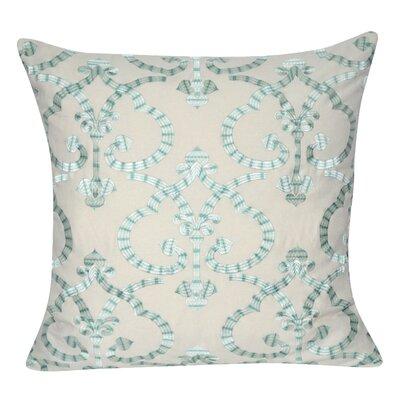 Delhi Throw Pillow Color: Turquoise