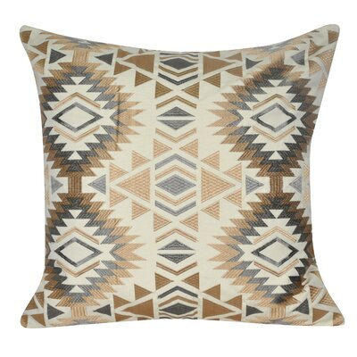 Savannah Throw Pillow Color: Khaki