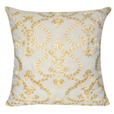 Delhi Throw Pillow Color: Yellow