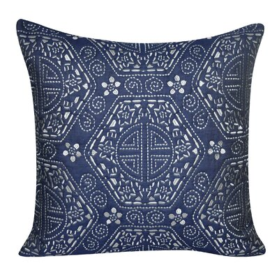 Denim Georgia Throw Pillow