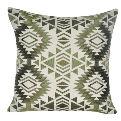 Tucson Throw Pillow Color: Green