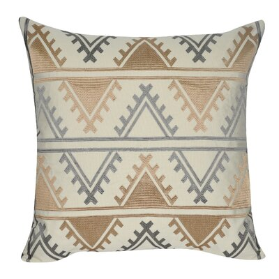 Tucson Throw Pillow Color: Khaki
