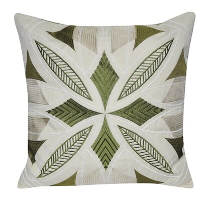 Phoenix Throw Pillow Color: Green