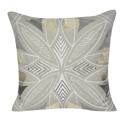 Phoenix Throw Pillow Color: Taupe