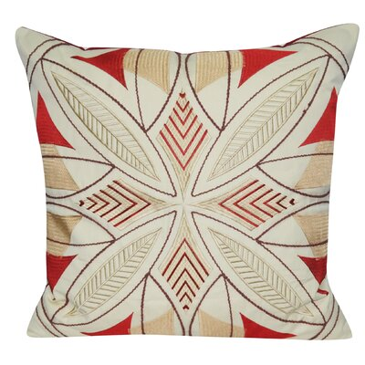 Phoenix Throw Pillow Color: Red