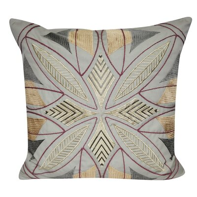 Phoenix Throw Pillow Color: Tan