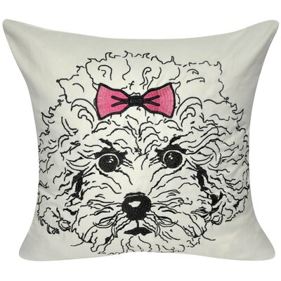 Poodle Decorative Throw Pillow