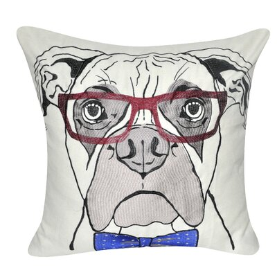 Boxer Decorative Throw Pillow
