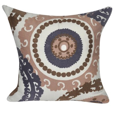 Providence Cotton Throw Pillow Color: Burnt Orange