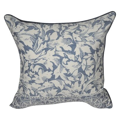 Falling Leaves Decorative Throw Pillow Color: Dark Blue