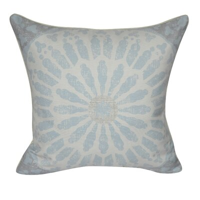 Sand Dollar Throw Pillow Color: Light Blue