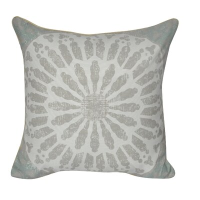 Sand Dollar Throw Pillow Color: Taupe