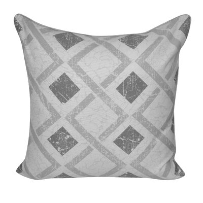 Tilted Block Throw Pillow Color: Taupe