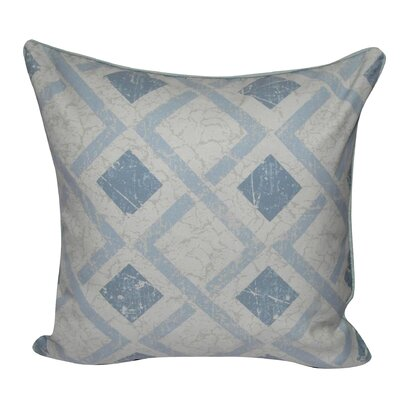 Tilted Block Throw Pillow Color: Light Blue