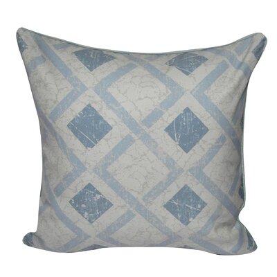 Tilted Block Throw Pillow Color: Light Blue