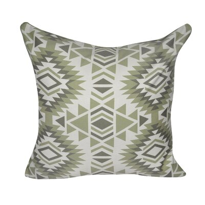 Savannah Printed Throw Pillow Color: Green