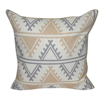 Tucson Printed Throw Pillow Color: Tan