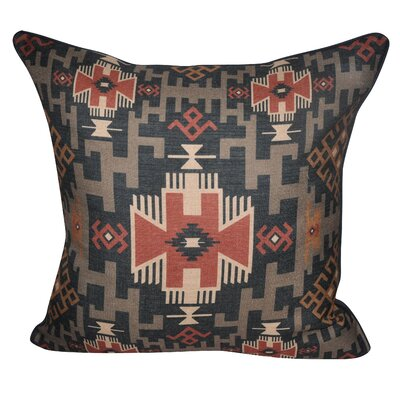 Southwestern Weave Decorative Throw Pillow Color: Dark Blue
