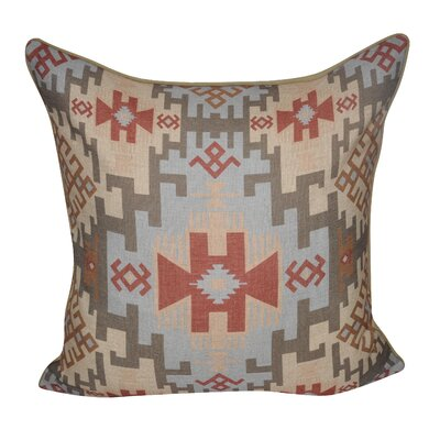 Southwestern Weave Decorative Throw Pillow Color: Tan